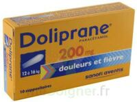 DOLIPRANE 200 mg Suppositoires 2Plq/5 (10) à GRENOBLE