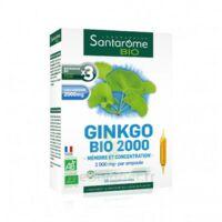 Santarome Bio Ginkgo 2000 Solution buvable 20 Ampoules/10ml à GRENOBLE