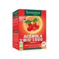 Santarome Bio Acérola 1000 Comprimés à croquer 2T/10 à GRENOBLE