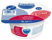 Fresubin 2kcal Crème sans lactose Nutriment fraise des bois 4 Pots/200g