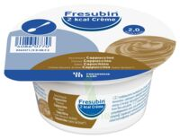 Fresubin 2kcal Crème sans lactose Nutriment cappuccino 4 Pots/200g à GRENOBLE