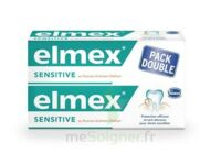 ELMEX SENSITIVE DENTIFRICE, tube 75 ml, pack 2