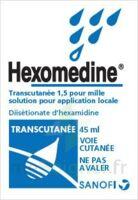 HEXOMEDINE TRANSCUTANEE 1,5 POUR MILLE, solution pour application locale à GRENOBLE