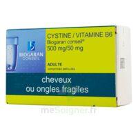 CYSTINE/VITAMINE B6 BIOGARAN CONSEIL 500 mg/50 mg Cpr pell Plq/120 à GRENOBLE
