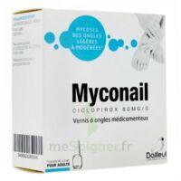 MYCONAIL 80 mg/g, vernis à ongles médicamenteux à GRENOBLE