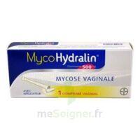 MYCOHYDRALIN 500 mg, comprimé vaginal à GRENOBLE