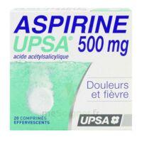 ASPIRINE UPSA 500 mg, comprimé effervescent à GRENOBLE