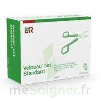 Velpeau Set Standard set de pansement pour plaies chroniques avec paire de ciseaux