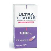 ULTRA-LEVURE 200 mg Gélules Fl/30 à GRENOBLE