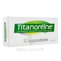 TITANOREINE Suppositoires B/12 à GRENOBLE