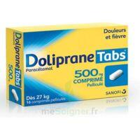 DOLIPRANETABS 500 mg Comprimés pelliculés Plq/16 à GRENOBLE
