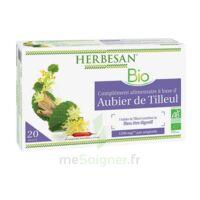 Herbesan Phyto Aubier de tilleul bio Solution buvable 20 Ampoules/15ml à GRENOBLE