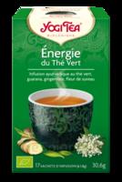 Yogi Tea Thé énergie du thé vert bio 17 Sachets à GRENOBLE