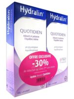 Hydralin Quotidien Gel lavant usage intime 2*400ml à GRENOBLE