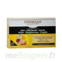 Herbesan Système Immunitaire 20 ampoules à GRENOBLE