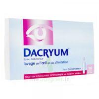 DACRYUM S p lav opht en récipient unidose 10Unid/5ml à GRENOBLE